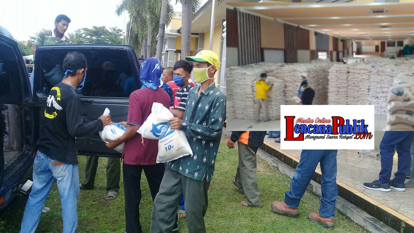 Sembako Lanjutan Wabah Pandemi,Dan Menjelang PSBB Kota Prabumulih