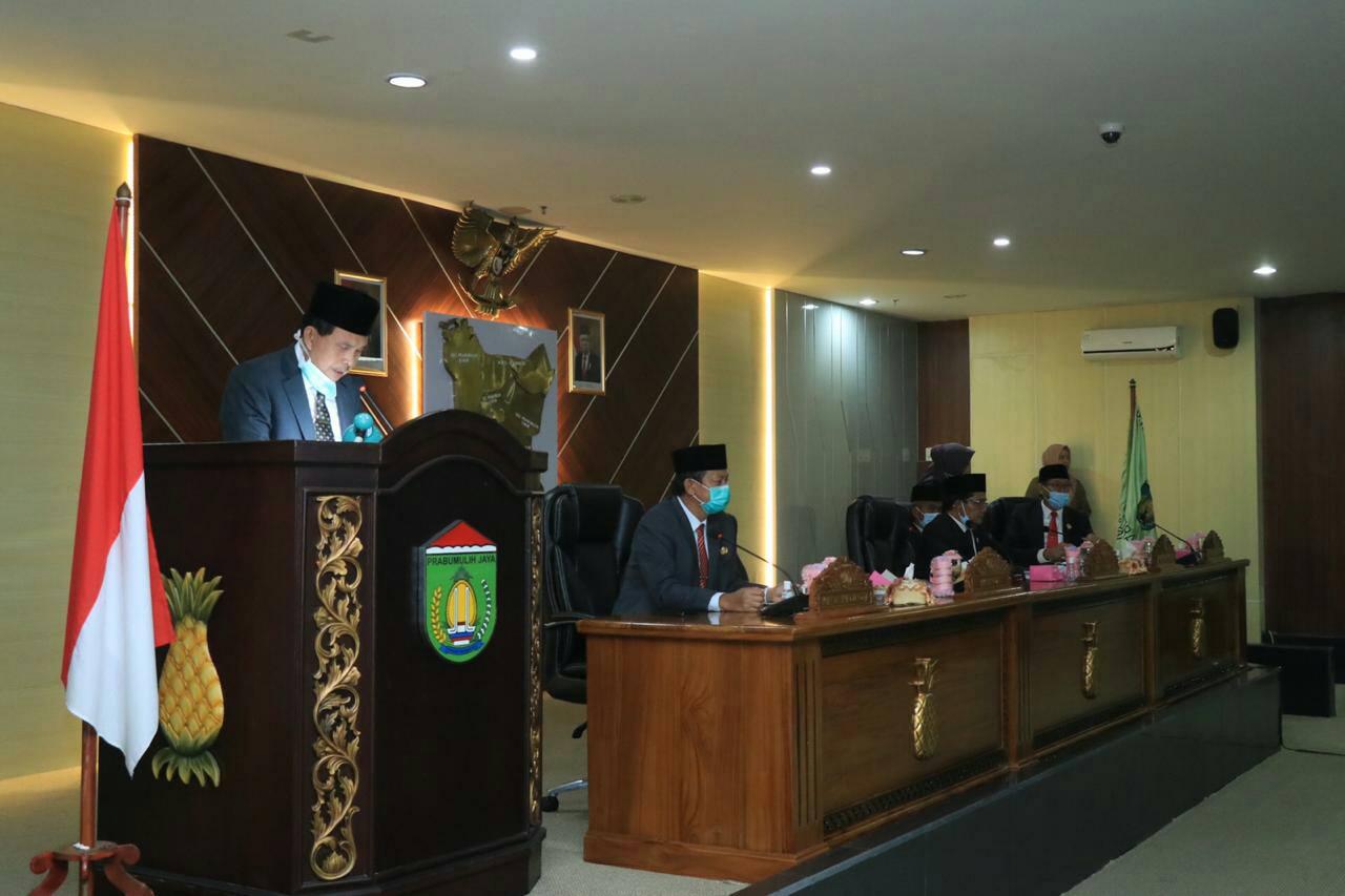 Raperda Pertanggungjawababan pelaksanaan APBD Kota Prabumulih Tahun 2019