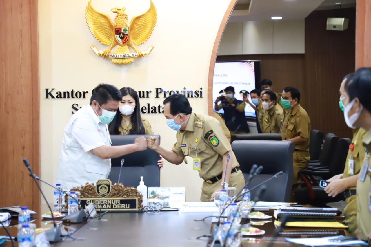 Walikota Prabumulih Minta Dukungan Gubernur Realisasikan Program Pusat di Kota Nanas