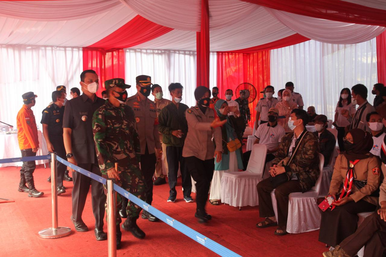 Kapolres dan Dandim Pimpinan Langsung Baksos 3T Di Bandara Soekarno-Hatta