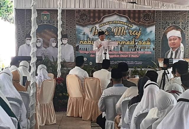 Menandai Peringatan Isra Mi'raj Nabi Muhammad SAW 1442 H, Ridho Yahya Menginginkan Masyarakat Prabumulih Yang Religius