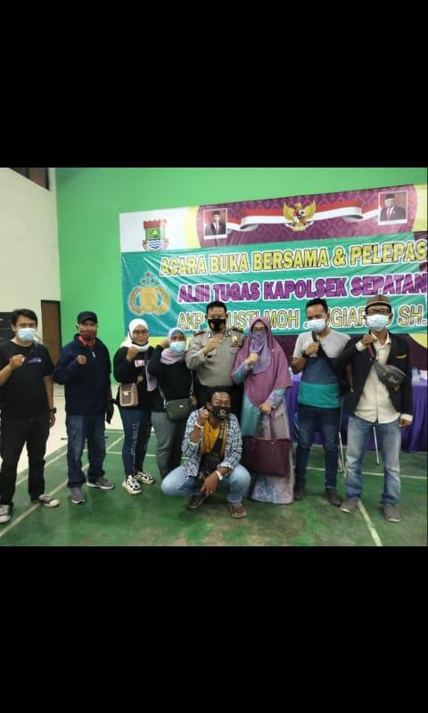 Alih Tugas Kepala Polisi Sektor Sepatan Di Hadiri Seluruh Stakeholder Kecamatan Sepatan